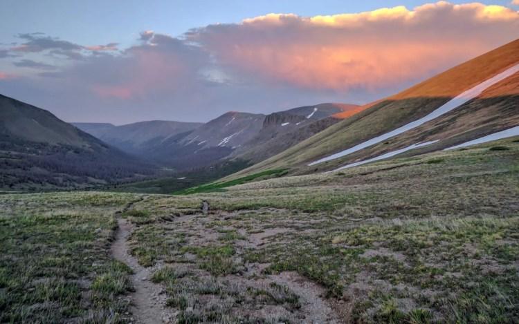 CDT Colorado Sunset Trail