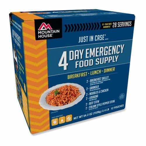 Mountain House Just in Case 4-Day Meal Kit