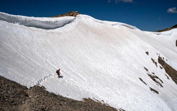 CDT Colorado Lake Anne Pass Snow