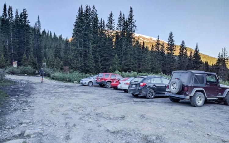 CDT Colorado Trailhead Cars