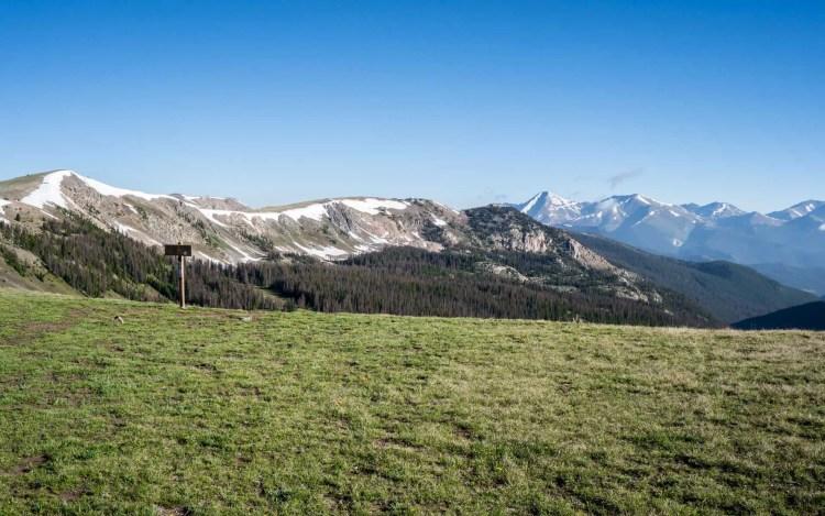 CDT Colorado Mountains