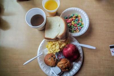 CDT Hotel Breakfast