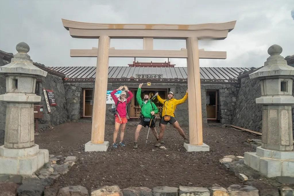 Japan Alps Traverse Finish