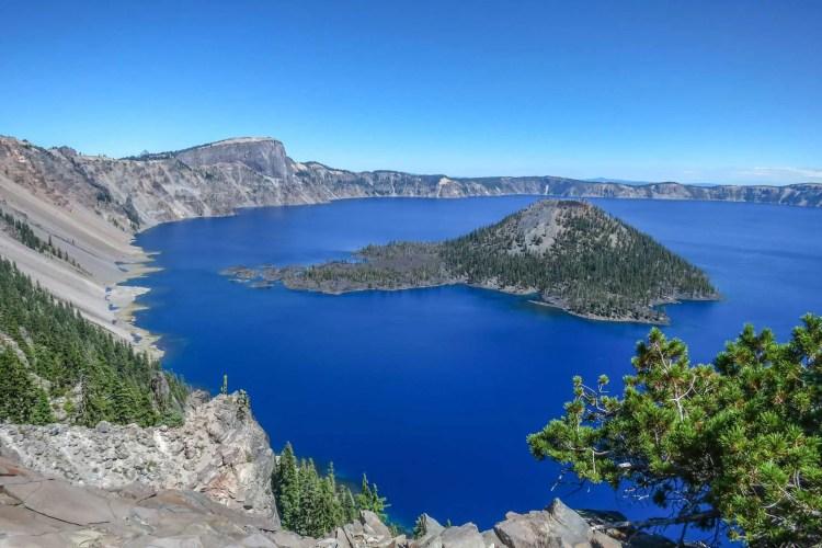 PCT Crater Lake Island