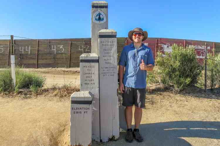 PCT Southern Terminus (Old)