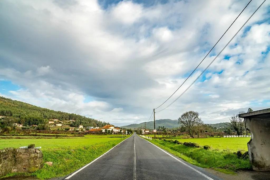 Camino Portugues Road