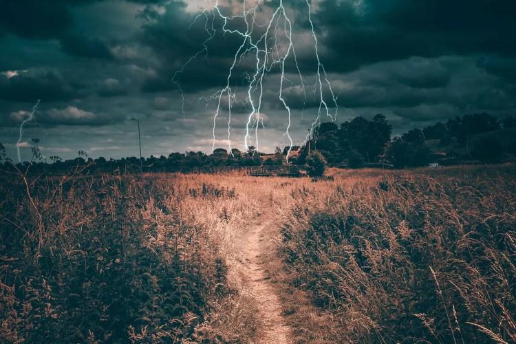 Trail Thunderstorm