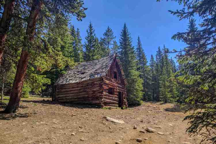CDT Colorado Abandoned Cabin