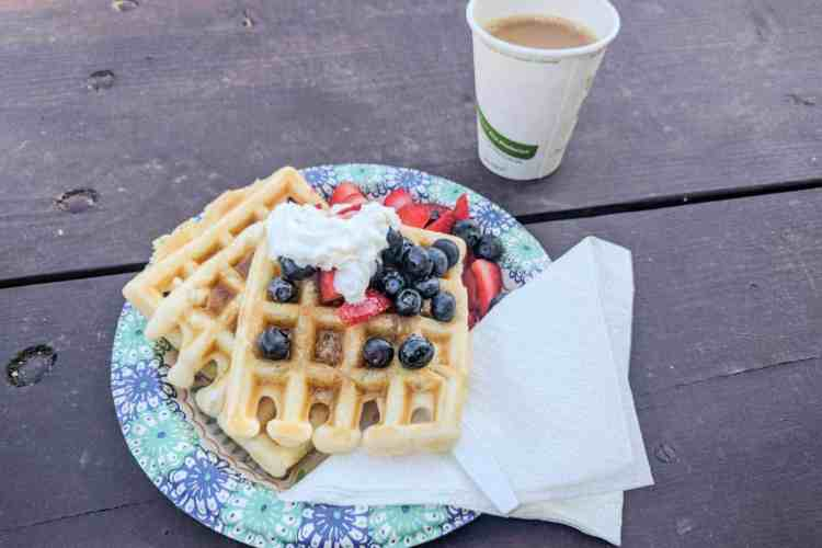 CDT Colorado Breckenridge Waffles