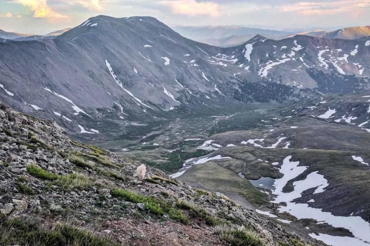 CDT Colorado Grays Peak North Side