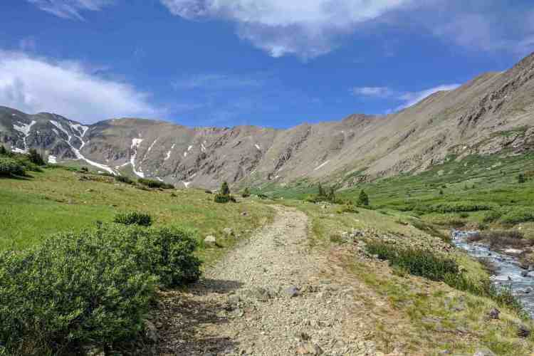 CDT Colorado Grays Peak Clear