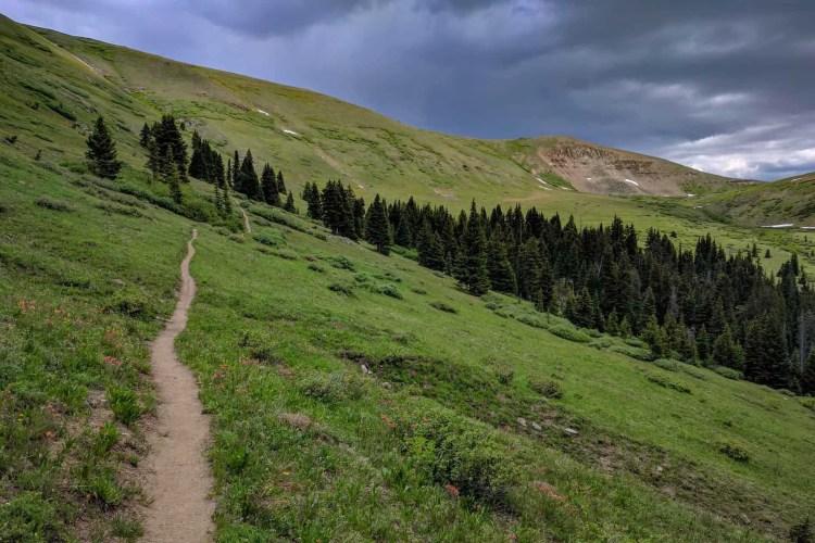 CDT Colorado Kokomo Pass Climb