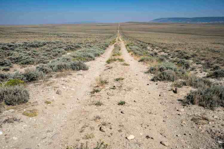 CDT Wyoming Basin Road
