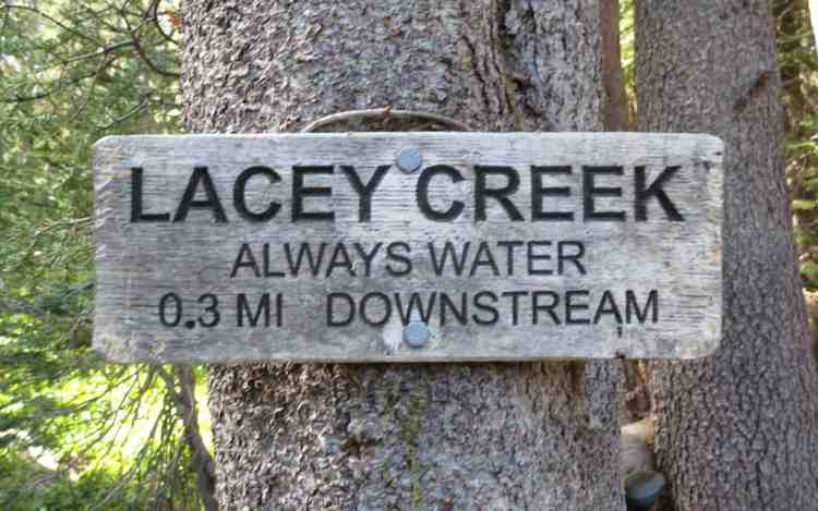 PCT NorCal Lacey Creek