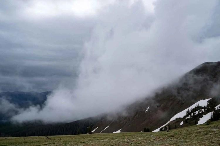 CDT Colorado Cloudy Morning
