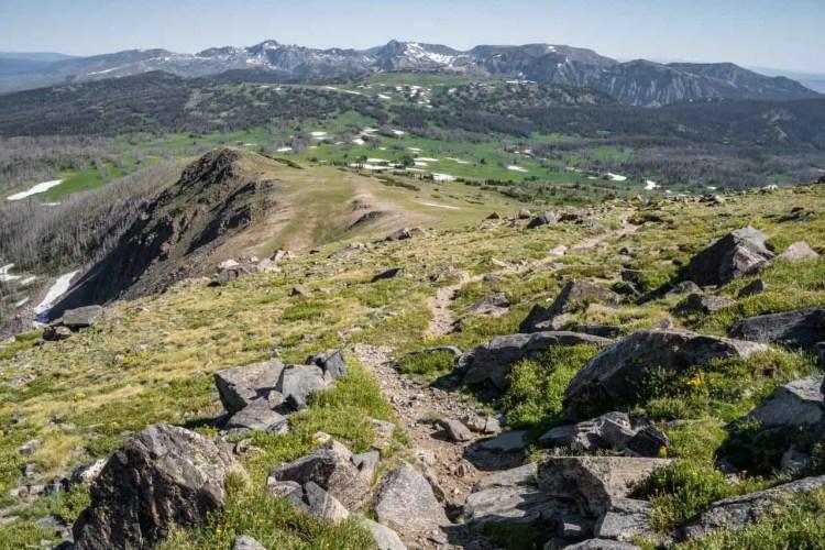 CDT Colorado Mount Zirkel Wilderness