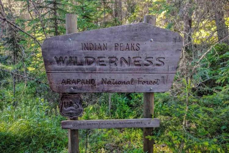 CDT Colorado Indian Peaks Wildereness