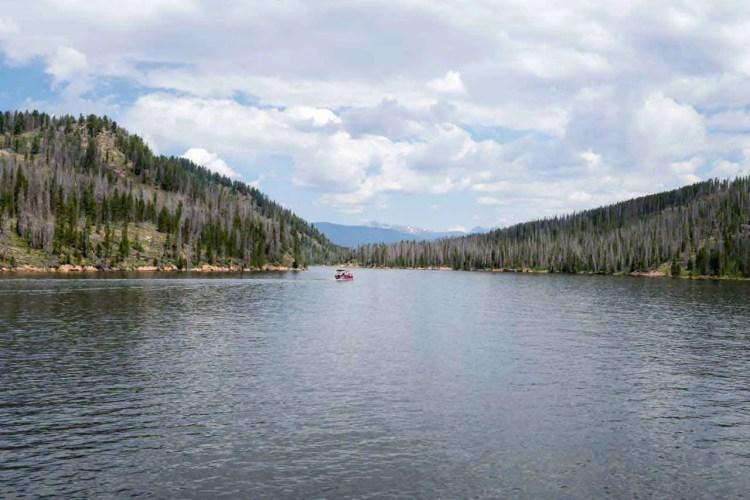 CDT Colorado Shadow Mountain Lake Boat