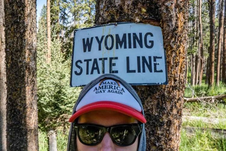 CDT Colorado Wyoming Border Mac