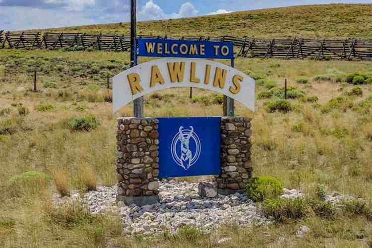 CDT Wyoming Rawlins Welcome Sign