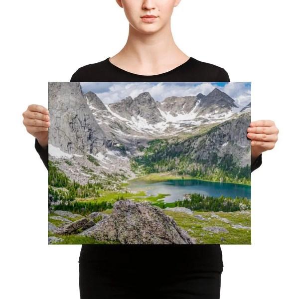 Wind River Canvas Print