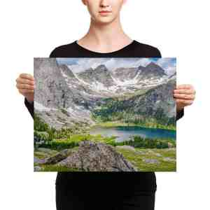 Wind River Canvas Print