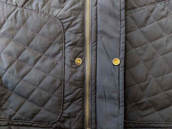 Bluffworks Horizon Quilted Vest Zipper