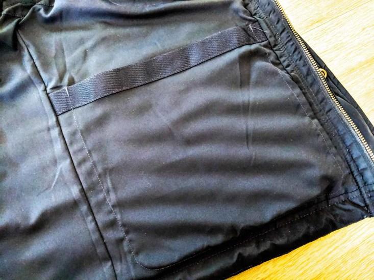 Bluffworks Horizon Quilted Vest Interior Pocket
