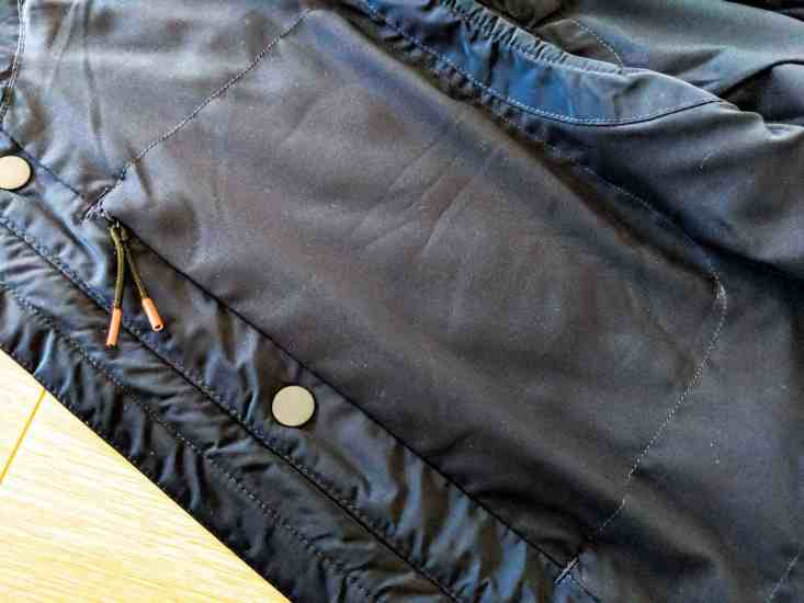 Bluffworks Horizon Quilted Vest Side Pocket