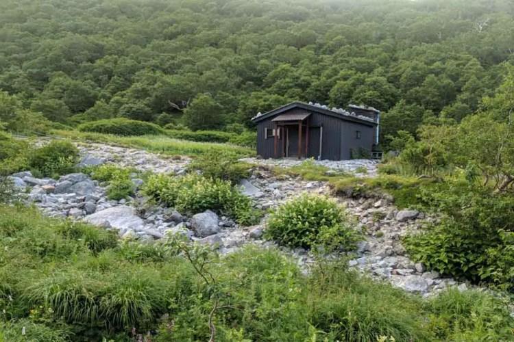Japan Alps Traverse Chuo Alps Hut