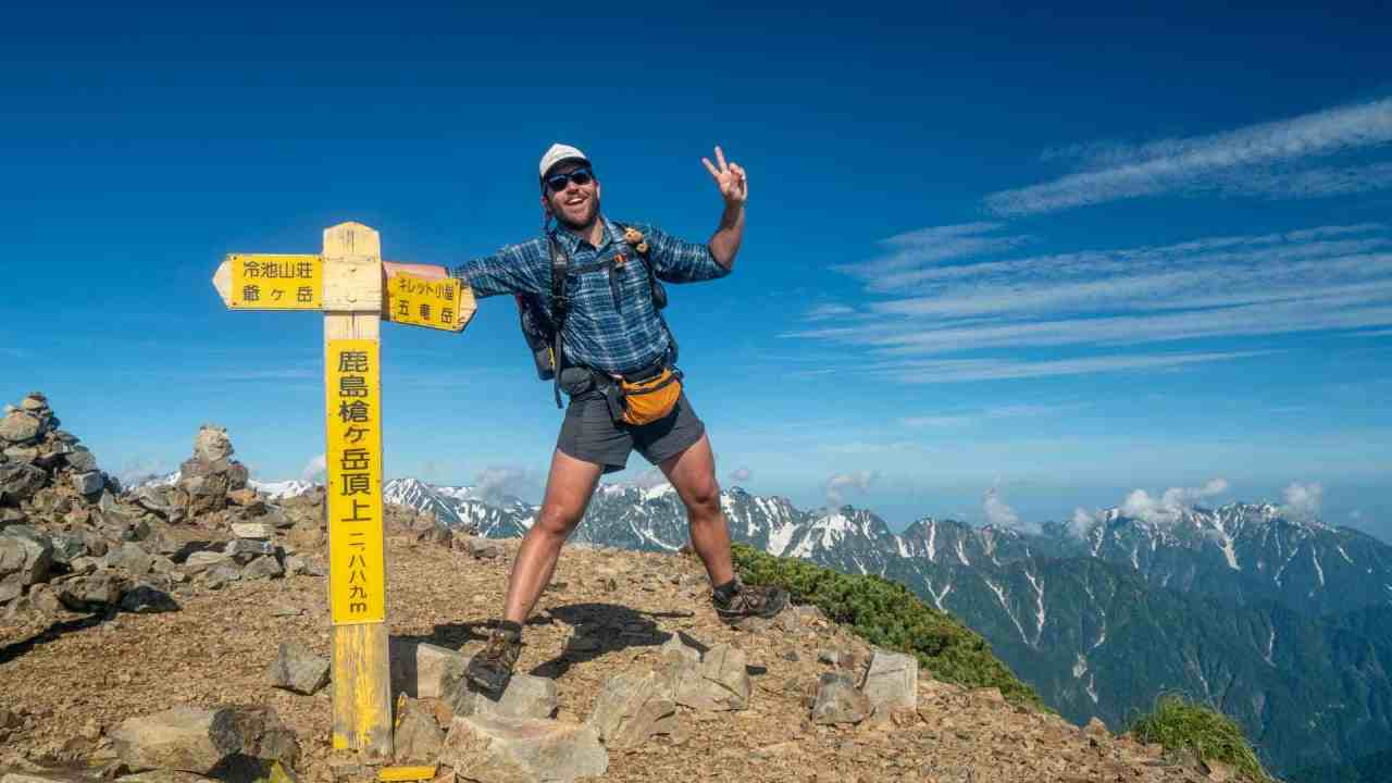 Japan Alps Traverse Featured