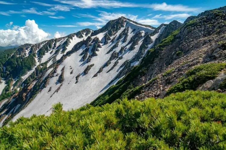Japan Alps Traverse Mountains