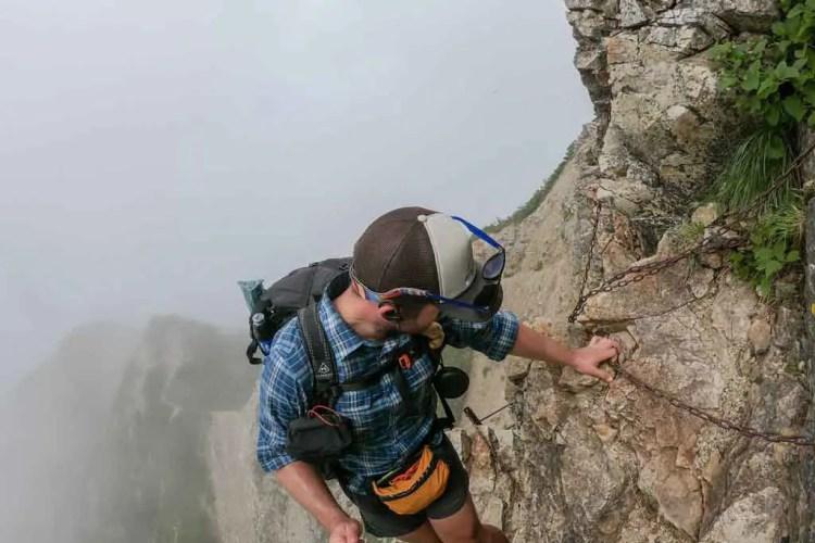 Japan Alps Traverse Mac Steep Trail