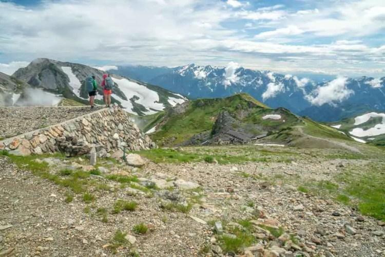 Japan Alps Traverse Kita Alps Lookout