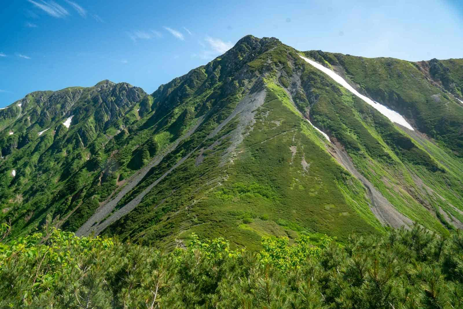 Japan Alps Traverse Kita Alps Green Tunnel