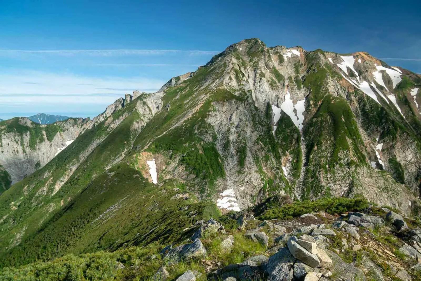 Japan Alps Traverse Kita Alps Trail Traverse