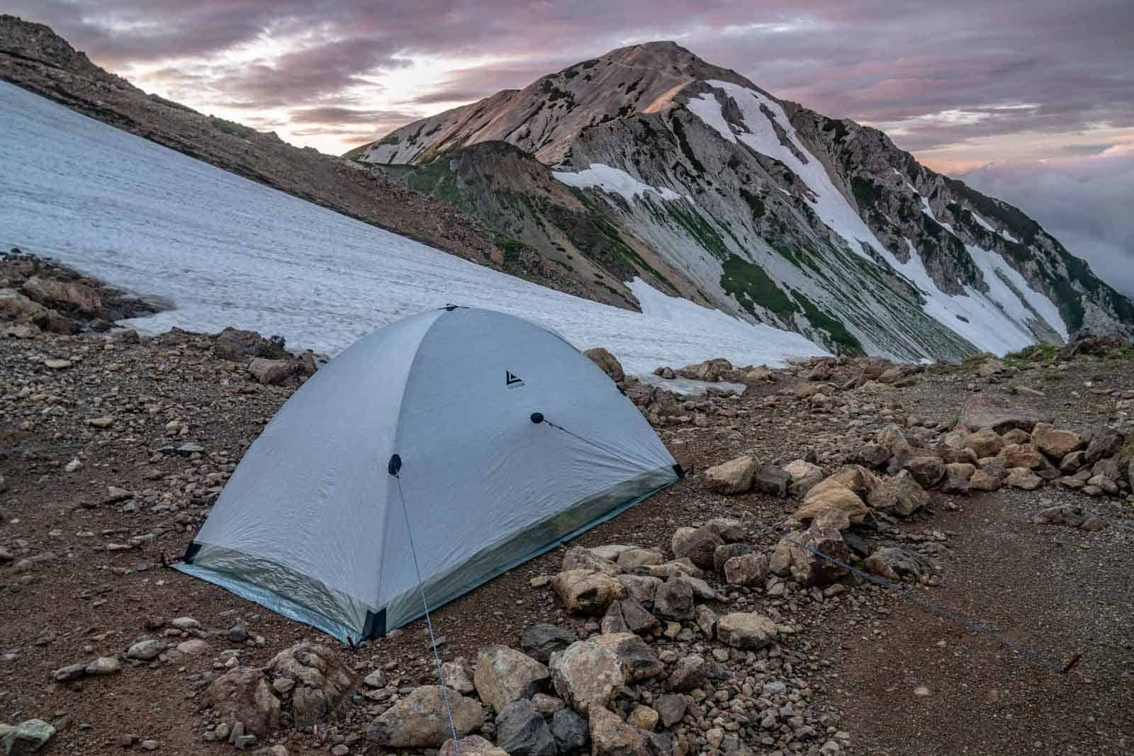 Japan Alps Traverse Kita Alps Djedi Dome