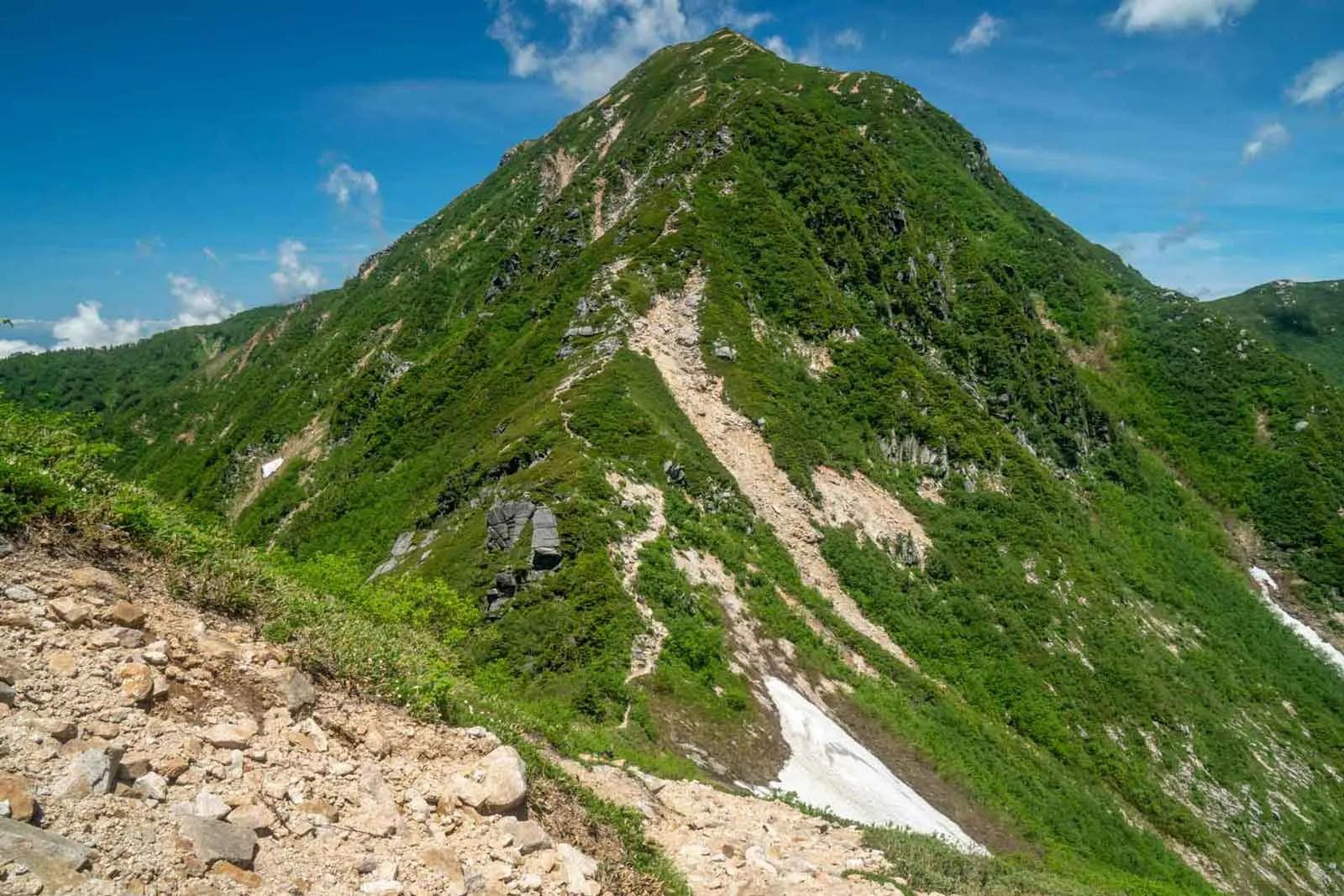 Japan Alps Traverse Kita Alps Steep Ridge