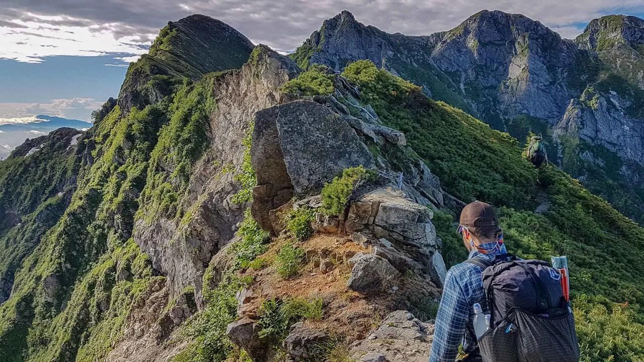 Japan Traverse Kita Alps Photo Gallery