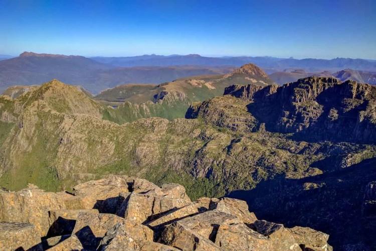 Tasmania Mount Anne Circuit Ridge Trail
