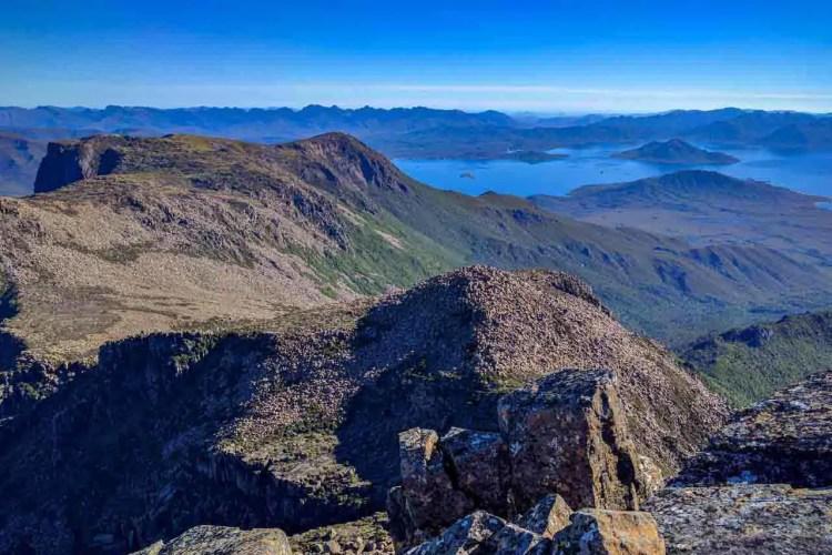 Tasmania Mount Anne Circuit Summit View