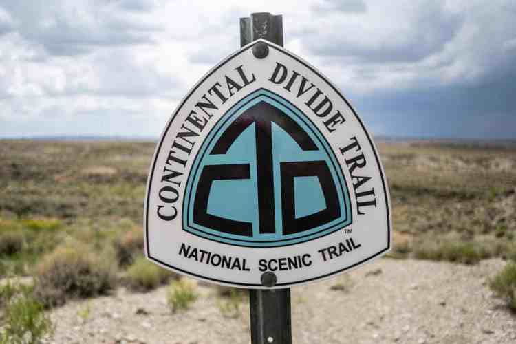 CDT Trail Marker