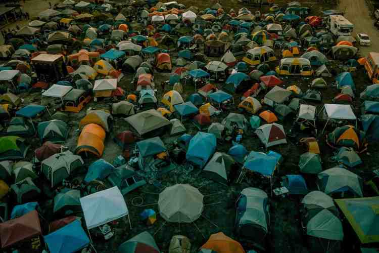 Crowded Tents