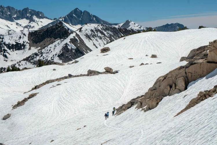 PCT Sierra Snow Glen Pass South