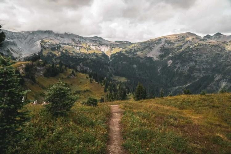 Washington Wonderland Trail Track