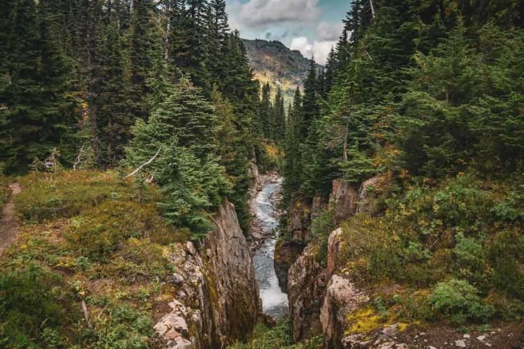 Washington Wonderland Trail Slot Canyon