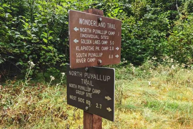 Washington Wonderland Sign
