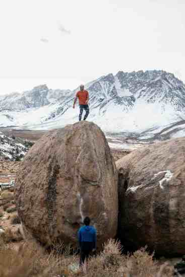 Bishop California Bouldering