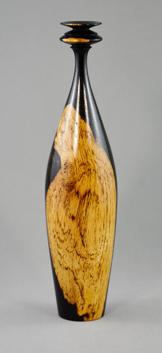 Paul Gray Diamond   African Blackwood Vase