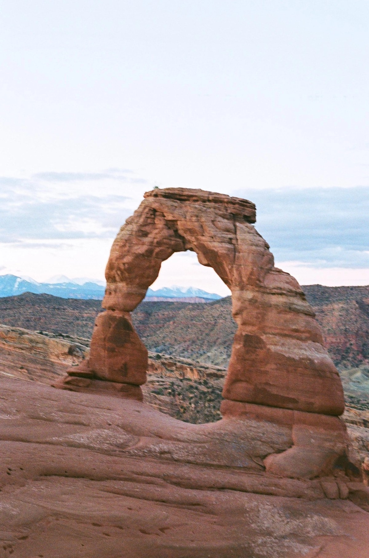 delicate arch is a great place to have your wedding day in a national park